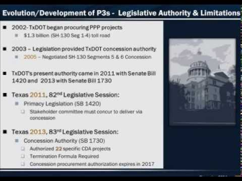 Public Private Partnerships and the SLC States: Recent Developments