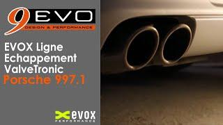 EVOX /// Ligne Echappement Porsche 997 MKI