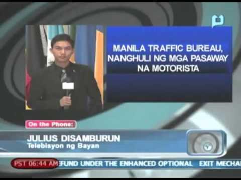 Manila Traffic Bureau, nanghuli ng mga pasaway na motorista