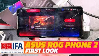 Asus ROG Phone 2 First Look - The New Powerful Gaming Smartphone