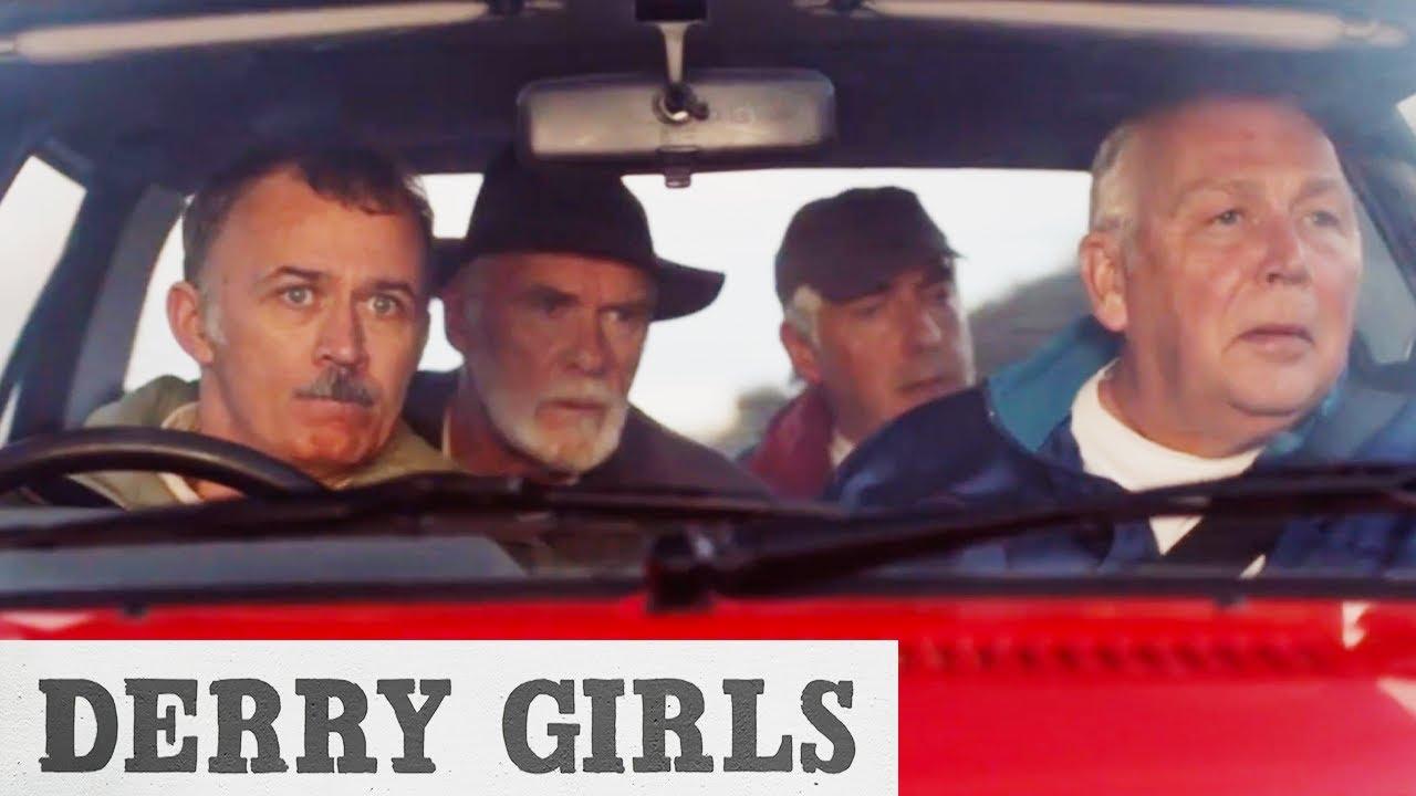 Joe And Gerry Hunt Down Bill Clinton | Derry Girls