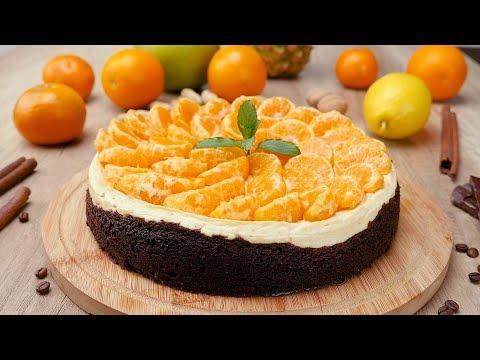 Чизкейк с пряными мандаринами - Рецепты от Со Вкусом