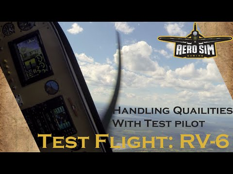 Test Flight: Vans RV6 Handling Qualities