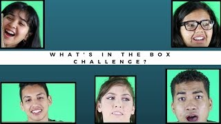 Whats in the box challenge?