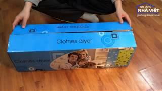 ✆ 082.7788333 - Hướng dẫn lắp đặt tủ sấy quần áo - Giadungnhaviet.com - FullHD