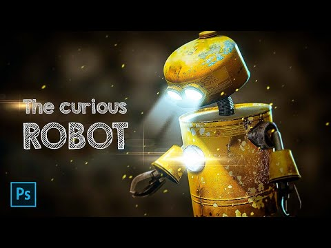 The Curious Robot PHOTO MANIPULATION Tutorial