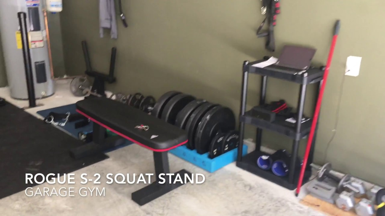 Rogue s squat stand review youtube