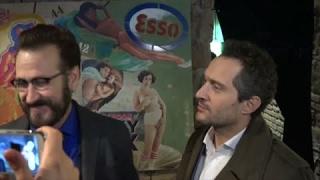 Marco Giallini e Claudio Santamaria sul set di Rimetti a noi i nostri debiti. Intervista