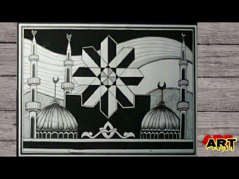 زخرفة اسلامية زخرفة هندسية أجمل الرسومات والزخارف الاسلامية رسومات زخارف اسلامية زخرفه هندسيه Youtube