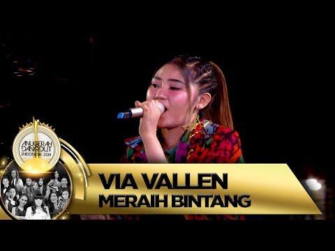 Via Vallen Mengguncang Malang Dengan [MERAIH BINTANG] - Anugerah Dangdut Indonesia 2018 (16/11)