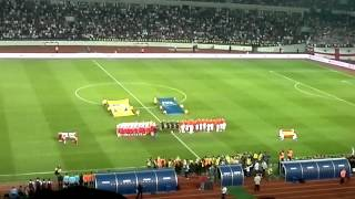 Georgia vs Spain Anthems