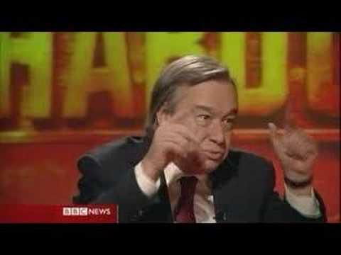 HARDtalk: Antonio Guterres 3