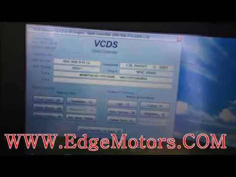 VW and Audi Throttle Body Adaptation basic settings DIY by Edge Motors