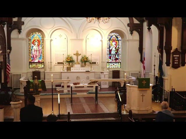 St. John's service October 10, 2021