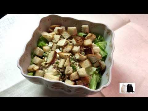 Легкий салат весенний.