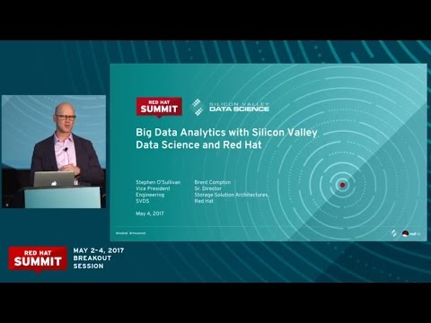Big data analytics with Silicon Valley Data Science and Red Hat