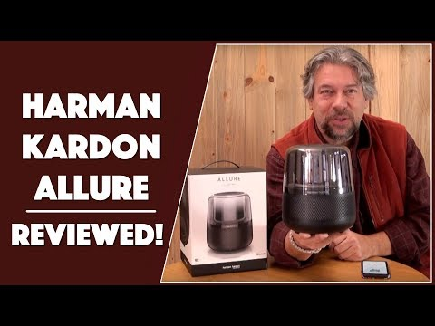 5291c14a945bed The Splendid Harman Kardon Allure - Alexa Speaker - Reviewed! - YouTube