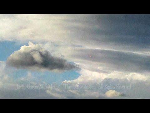 UFO Sightings Spectacular UFO Display! Puerto Angel Mexico 2015