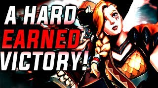 A HARD-EARNED VICTORY!-Paladins OB59 TYRA Gameplay Full Match(Siege)/Commentary