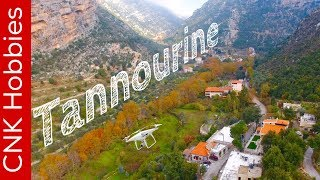Tannourine by drone -4k- | تنورين
