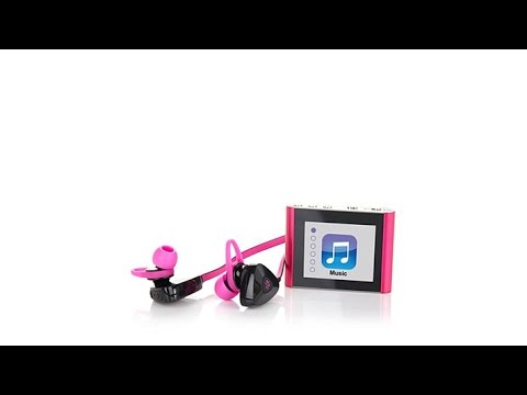 Eclipse Fit Clip Bluetooth Audio Player with Earbud Head...