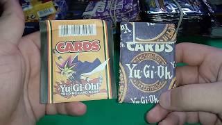 Abrindo Mini Cards de Yugi oh!