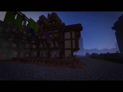 Great Fire 1666 in Minecraft