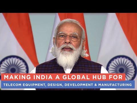Making India a global hub for telecom equipment, design, development & manufacturing