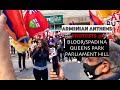 ARMENIAN PROTESTS - TORONTO (Anthems)