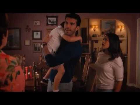 Jane the virgin - Alba hits Mateo