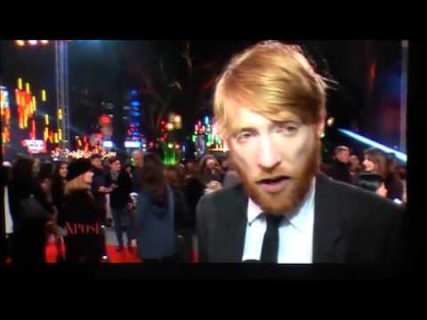 Domhnall Gleeson- The Revenant Red Carpet (Irish Tv chat)