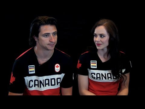 Tessa Virtue & Scott Moir on The Future of the Sport | LIVE 2-19-18