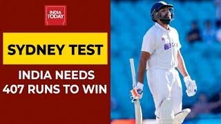 <b>India Vs Australia</b>| India Finish Day 4 On 98/2, Need Another 309 ...