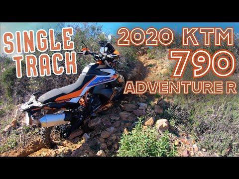 2020 KTM 790 Adventure R -VS- Single Track