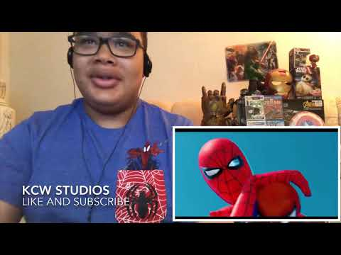 Spider-Man Battle Fight Scene (from Mighty Raccoon) Reaction!