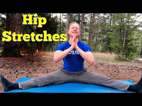 best hip stretches for amazing flexibility  15 min full