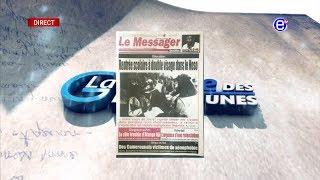 LA REVUE DES GRANDES UNES DU MARDI 03 SEPTEMBRE 2019 - ÉQUINOXE TV