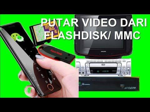 Cara Putar Video Dari Flashdisk Di Dvd/ RECEIVER/VCD  PLAYER