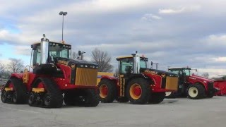 Versatile 50th Anniversary Limited Edition Tractors at the 2016 National Farm Machinery Show
