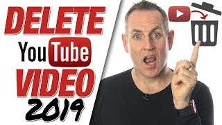 How To Delete YouTube Videos 2019