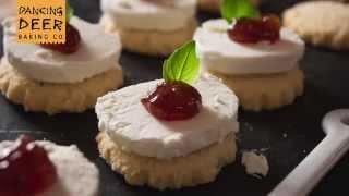 Rosemary Shortbread Cookies DIY Treat