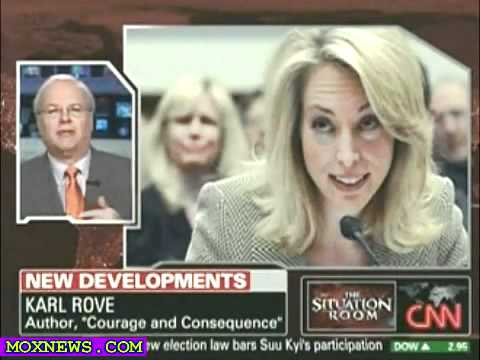 Karl Rove On Outing Covert CIA Agent Valerie Plame I Didn't Do It!.flv