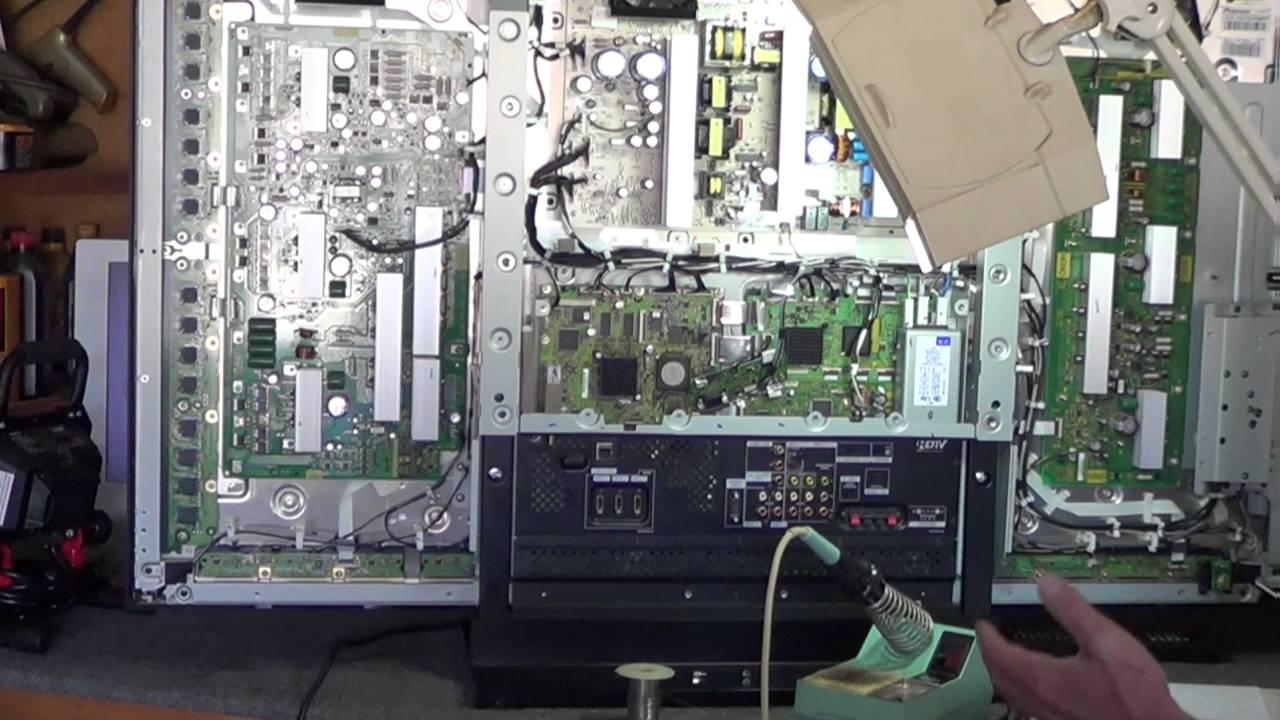 Pioneer Plasma PRO-111FD 8 Blue Blinks Video #62