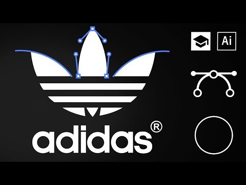 How To Design The Adidas Logo | Famous Logo Designs Breakdown