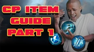 CP ITEM GUIDE PART 1   VAINGLORY   AFTERSHOCK, FROSTBURN AND SHATTERGLASS!