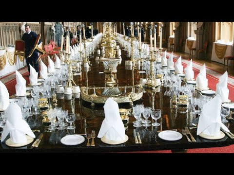 Here's What Happens When the Queen Throws a Giant Banquet