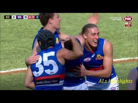 Western Bulldogs Goals | 2018 Round 23 Vs Richmond
