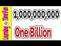 Counting for Kids | Big Numbers | Million Billion Trillion | Educational Videos for Kids | Math