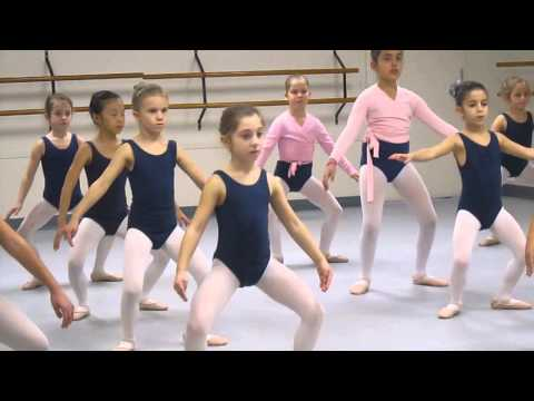 Erin in Ballet Class - Grade 1 - Advanced @ Greta Leeming Studio, Ottawa