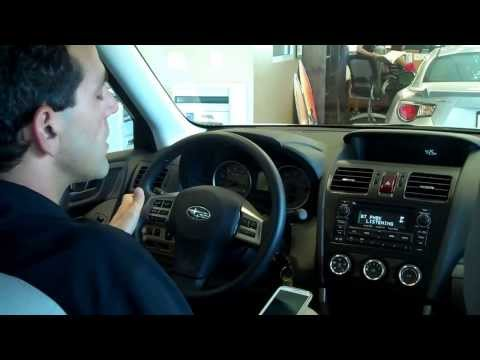 Using Bluetooth in your 2014 Subaru Forester